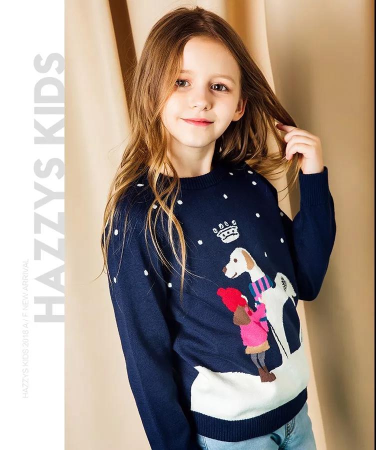 HAZZYS给儿童们在冬日里穿搭有范