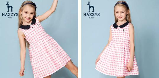 今夏HAZZYS让女孩们做个可盐可甜的小仙女